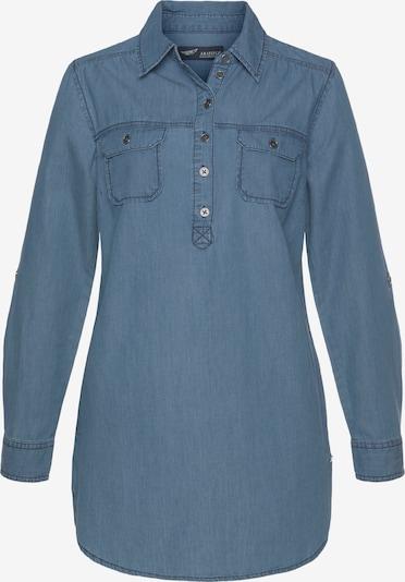 ARIZONA Jeansbluse in blau, Produktansicht