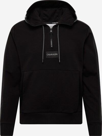 Calvin Klein Sweat-shirt en anthracite / noir, Vue avec produit