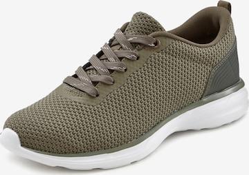 LASCANA Sneakers in Green