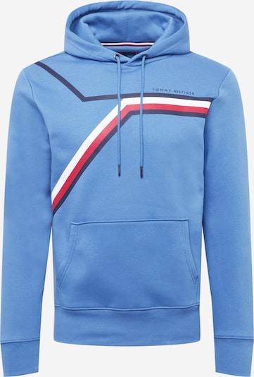 TOMMY HILFIGER Sweatshirt in de kleur Lichtblauw / Donkerblauw / Rood / Wit, Productweergave