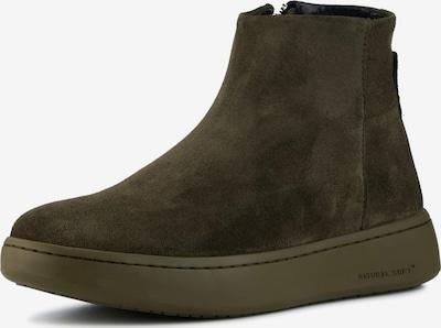 WODEN Schuh in dunkelgrün, Produktansicht