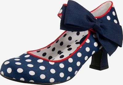 Ruby Shoo Pumps 'Trixie' in dunkelblau / rot / weiß, Produktansicht