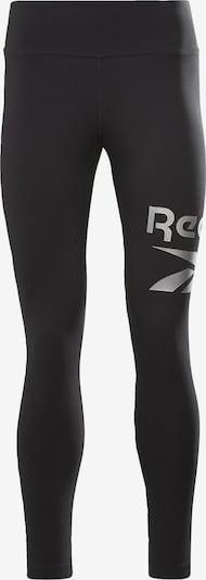 REEBOK Sportovní kalhoty 'Identity' - šedá / černá, Produkt
