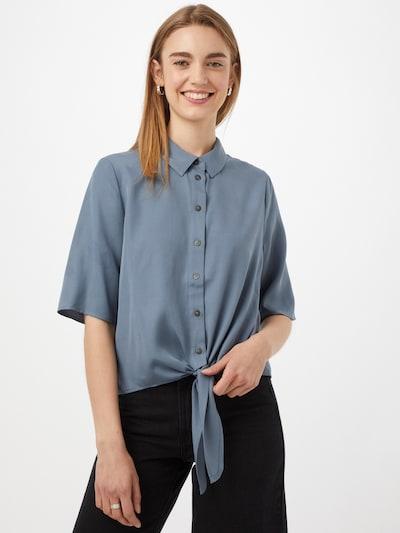 OBJECT Bluse 'TILDA KARLA' in rauchblau, Modelansicht