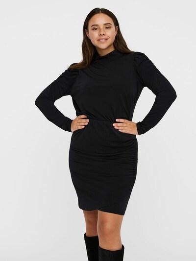 Vero Moda Curve Kleid 'JAYDA' in schwarz, Modelansicht