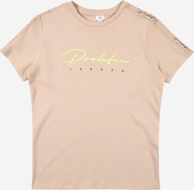 River Island Shirt in de kleur Geel / Poederroze / Zwart, Productweergave