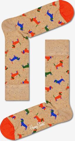 Happy Socks Socks in Brown