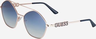 GUESS Okulary przeciwsłoneczne w kolorze niebieski / różowe złotom, Podgląd produktu
