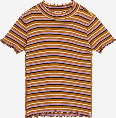 SCOTCH & SODA Shirt in honig / flieder / schwarz / weiß, Produktansicht