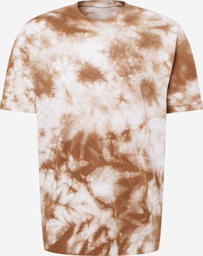 Tricou 'THILO' DRYKORN pe bej / maro, Vizualizare produs