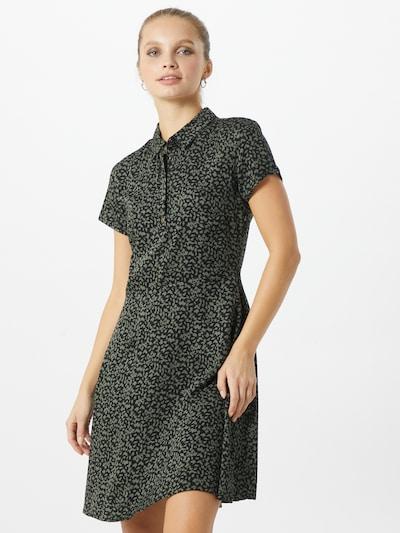 Mavi Blusenkleid in grün / schwarz, Modelansicht