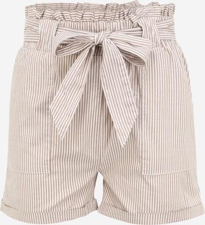 Only Tall Pantalon harem 'MILLA' en marron / blanc, Vue avec produit
