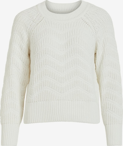 OBJECT Pullover in weiß: Frontalansicht