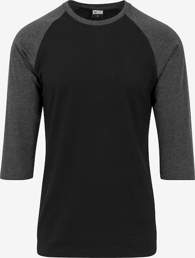 Urban Classics Shirt in de kleur Donkergrijs / Zwart, Productweergave