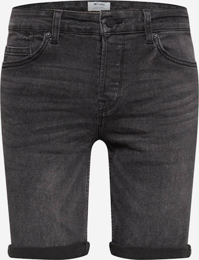 Only & Sons Jeans in grey denim: Frontal view