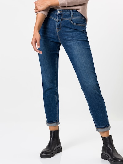 zero Jeans in blue denim, Modelansicht