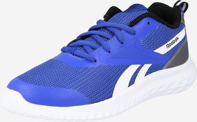 REEBOK Športni čevelj 'Rush Runner 3.0' | modra / siva / bela barva: Frontalni pogled