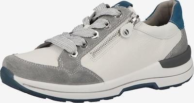 ARA Sneaker in himmelblau / grau / naturweiß, Produktansicht