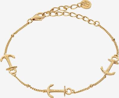 Paul Hewitt Armband in gold, Produktansicht