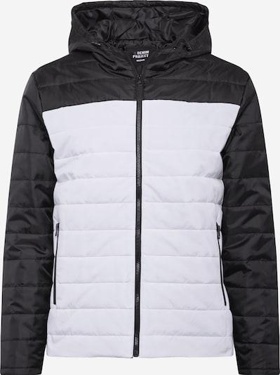 Denim Project Prijelazna jakna u crna / bijela, Pregled proizvoda