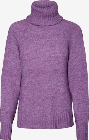 VERO MODA Sweater 'Villa' in Purple