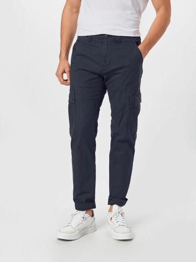 Superdry Pantalon cargo 'CORE CARGO' en noir: Vue de face
