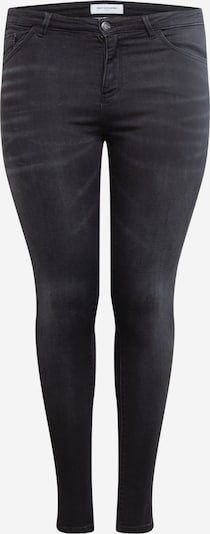 ONLY Carmakoma Jeans i black denim, Produktvisning