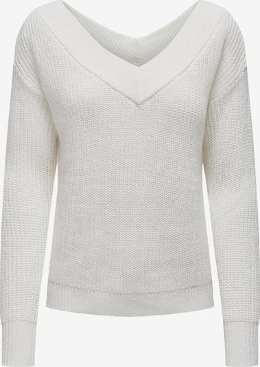 ONLY Pullover 'MELTON' in weiß, Produktansicht