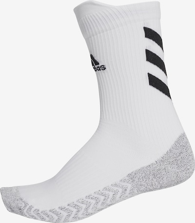 ADIDAS PERFORMANCE Chaussettes de sport en gris / noir / blanc, Vue avec produit