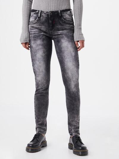 STREET ONE Jeans 'York' in schwarz, Modelansicht