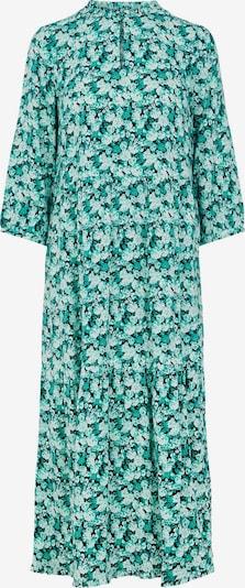 Y.A.S Kleid 'Greeni' in türkis / pastellgrün / schwarz / weiß, Produktansicht