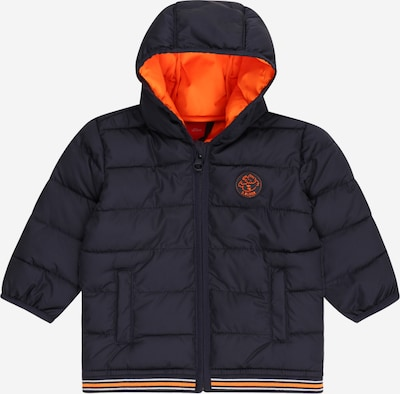 s.Oliver Übergangsjacke in navy / orange, Produktansicht