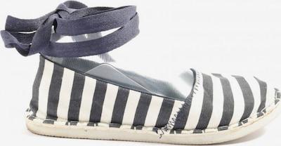 NEW YORKER Espadrilles-Sandalen in 36 in blau / schwarz / weiß, Produktansicht
