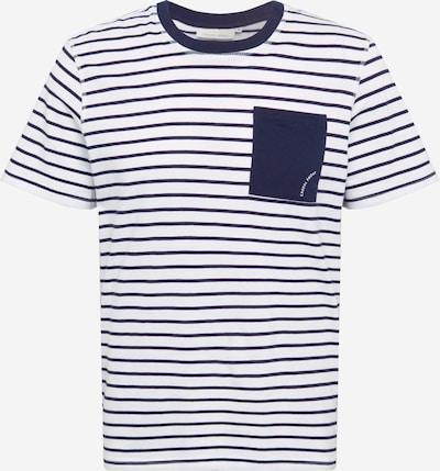 Casual Friday Majica u tamno plava / bijela, Pregled proizvoda