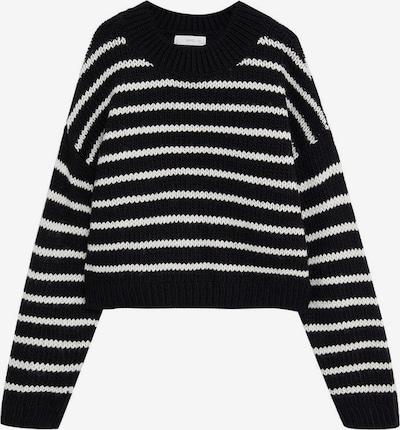 MANGO KIDS Pullover in schwarz / weiß, Produktansicht