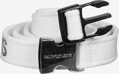 Calvin Klein Jeans Gürtel in schwarz / weiß, Produktansicht