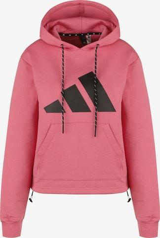 ADIDAS PERFORMANCE Athletic Sweatshirt in Pink