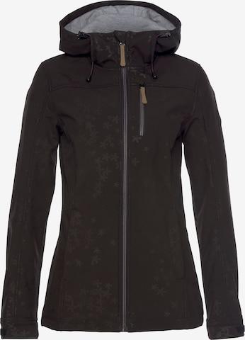 POLARINO Outdoor Jacket 'Polarino' in Black