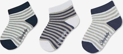 STERNTALER Socken in marine / greige / weiß, Produktansicht