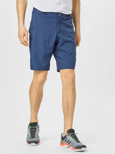 Maloja Outdoorové nohavice 'BardinM.' - tmavomodrá: Pohľad spredu