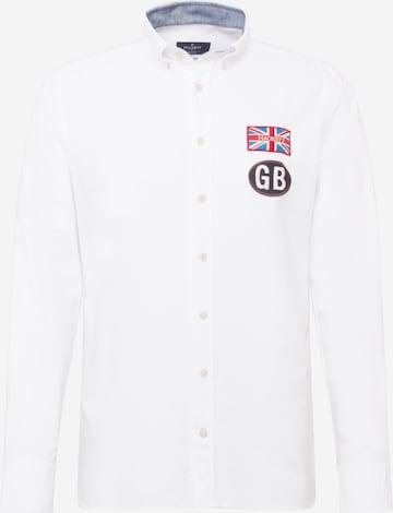 Camicia di Hackett London in bianco