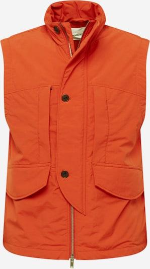 WOOD WOOD Veste 'Tarik', krāsa - tumši oranžs, Preces skats