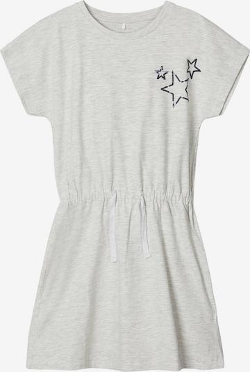 NAME IT Kleid in graumeliert, Produktansicht