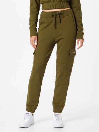 Tommy Jeans Hose in oliv, Modelansicht
