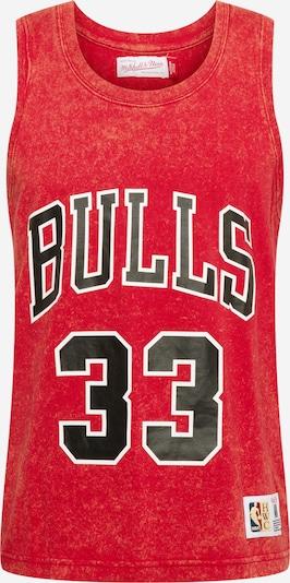 Mitchell & Ness Shirt in de kleur Rood / Zwart / Wit, Productweergave