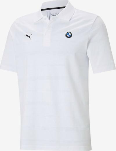 PUMA Functioneel shirt 'BMW' in de kleur Blauw / Grijs / Zwart / Wit, Productweergave