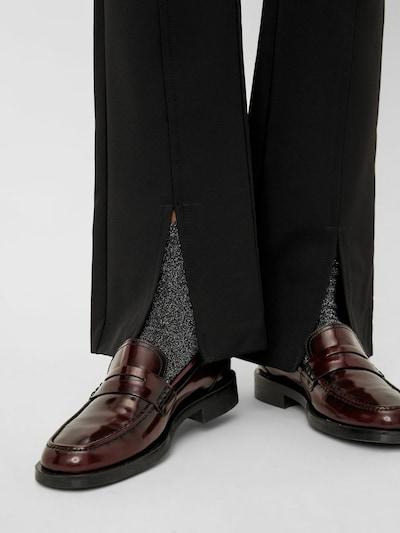 MAMALICIOUS Pantalon en noir, Vue avec produit