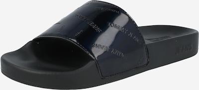 Saboți Tommy Jeans pe negru, Vizualizare produs