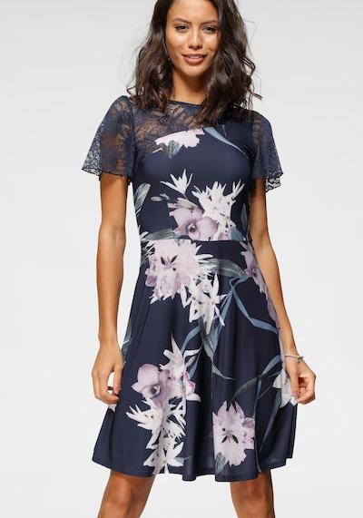 MELROSE Kleid in dunkelblau / mischfarben, Modelansicht