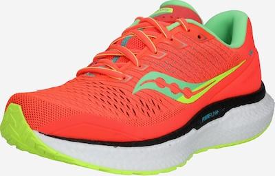 saucony Tenisice za trčanje 'Triumph 18' u žuta / zelena / jarko crvena, Pregled proizvoda